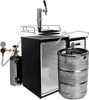 Home Kegerator with CO2