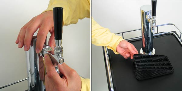 Install Handle Faucet