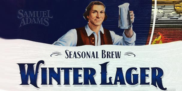 REVIEW: Winter Lager from Samuel Adams Brewery
