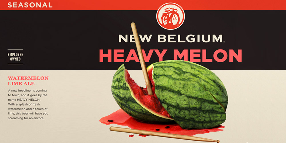 Heavy Melon from New Belgium Brewing