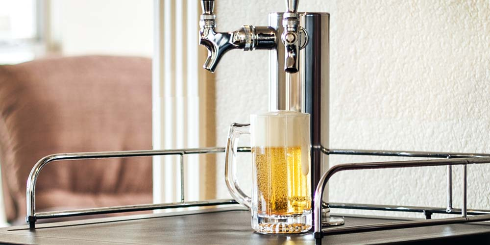 Storing Beer in Kegerator