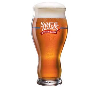 Samuel Adams Pint Glass